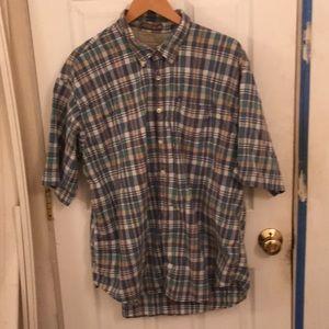 Men's large button down shirt